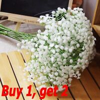 1 Head Romantic Baby's Breath Gypsophila Silk Flower Party Wedding Home Decors ~