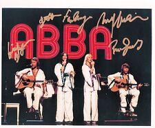 Rare Still ABBA CAST SIGNED