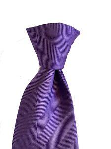 Pierre Cardin Paris Mens Violet Classic Polyester Tie