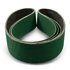 4 X 36 Inch 80 Grit Metal Grinding Zirconia Sanding Belts, 3 Pack