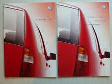 Prospekt Volkswagen VW Polo Variant, 9.1999, 20 Seiten + Preisliste