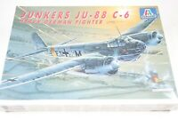 Italeri Junkers JU-88 C-6 Night Fighter Model Airplane Kit 1:72 German WWII