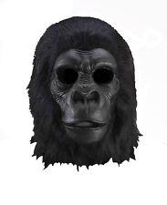 Adult Latex Full Head Gorilla Great Ape Monkey Bigfoot Costume Mask