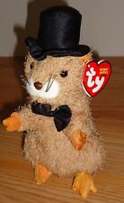 Ty Original Beanie Babies PUNXSUTAWN-E PHIL 2004 Groundhog w/Tag (lighter fur)