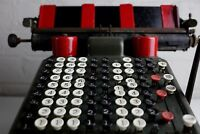 Antique - Burroughs Manual Adding Machine - Collectable