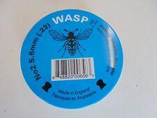 WASP no2 5.6 mm (.22) airifle PELLET Campione Confezione da 250 CILINDRI inviati in una borsa.