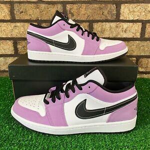 💥Air Jordan 1 Low SE (Size 11) CK3022-503 'Light Purple Suede' Shoes 💥
