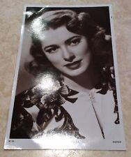 Vintage Picturegoer Postcard Of Eleanor Parker