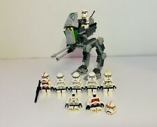 Lego Star Wars Clone Scout Walker 7250 2005 And Clone Lot Set 7655 Read Dis