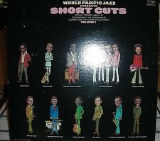 """World Pacific Jazz - Short Cuts, Vol 1""  2 Record Stereo Set 1969 GATEFOLD VG+"