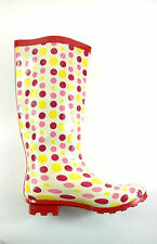 Unbranded Multi-Coloured Rubber Boots for Women