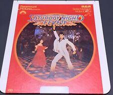 Saturday Night Fever RCA CED Selectavision VideoDisc John Travolta - Vintage