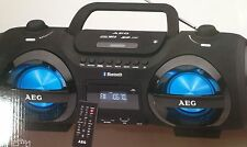 AEG SR 4359 Bluetooth MP3 CD Player USB  UKW  Soundbox Ghettoblaster Boombox