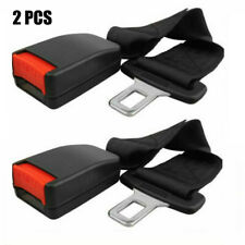 "7/8"" Buckle 2 Pcs 14"" Car Truck Seat Seatbelt Safety Belt Extender Extension"