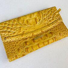 Brahmin TriFold Wallet Melbourne Crocodile Embossed - Soft - Fantastic Condition