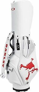 Oakley Golf Caddy bag Sports outdoor FOS900201 White/Red From Japan