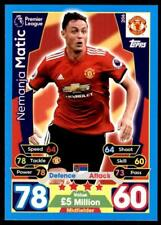 2017//18 Match Attax EXTRA M Carrick-Manchester United capitán MTC12