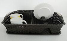Escurreplatos Escurridor de Platos con bandeja Cocina, Plástico
