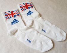 ADIDAS  BRITISH CYCLING SOCKS LARGE/X-LARGE UNION JACK FLAG BRAND NEW