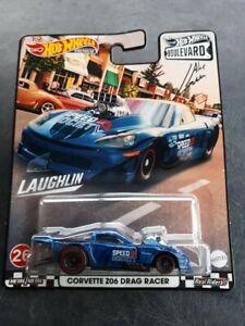 Hot Wheels Car Culture 2021 Boulevard Corvette Z06 Drag Racer #26