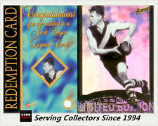 1996 Select AFL Card Series 2 Jack Dyer Legend Card (Richmond) + Redemption Card