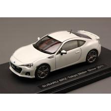 SUBARU BRZ TOKYO MOTOR SHOW 2011 MATT WHITE 1:43 Ebbro Auto Stradali Die Cast