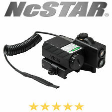 VISM Offset Green Laser Designator LED NAV Lights Quick Release Mount Black