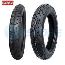 Motorcycle Tire Set 90/90-18 Front 130/90-15 Rear Tires For Honda Rebel 250