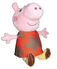"Peppa Pig Mud Dress 8"" Plush Doll. Licensed Stuffed Toy. NWT. USA"