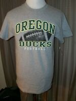 MEN'S OREGON DUCKS FOOTBALL GRAY SHIRT M MEDIUM NEW TAGS NCAA