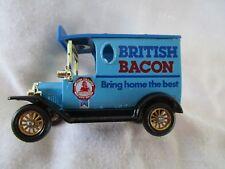 "1984 Lledo Days Gone Ford Model - T ""British Bacon"" Van"