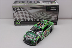 NASCAR 2018 KYLE BUSCH #18 TEXAS RACE WIN INTERSTATE BATTERIES  1/24 CAR