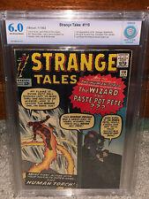Strange Tales #110 CBCS 6.0 1963 1st Doctor Strange! Dr Free CGC sized mylar! cm