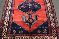 3'6 x 10'2 Dated Geometric Semi Antique Oriental Handmade Wool Rug Runner 4 x 10