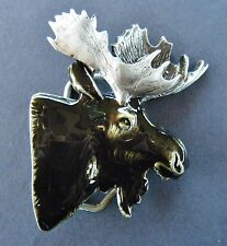 Moose Head Hunting Hunters Belt Buckles Boucle de Ceinture