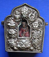 alter Reisealtar Tibet, Nepal GAU, Schrein Buddhismus