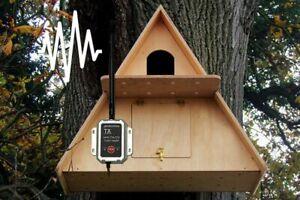 Barn Owl AHD Wireless Camera Nest Box | Assembled Large Wooden Garden Owls Birds