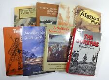 SET (8) Military and War History - European, Jacobite, Afghan, Gurkhas, Mecca +