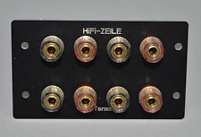 HiFi-ZEILE: Braun Atelier A1 / A2 - Ein solides Lautsprecher Anschlussterminal !