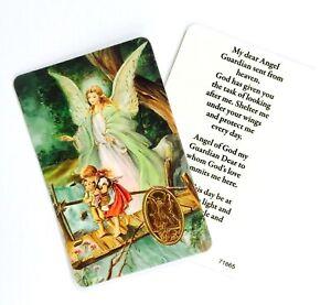 GUARDIAN ANGEL Prayer Card - Credit Card Size