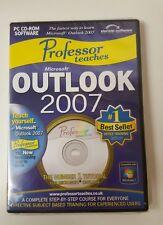 Professor Teaches Microsoft Outlook 2007 Training Suite Computers Windows7bd