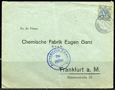 NETHERLANDS COVER AMSTERDAM  27.X.15  TO FRANKFURT AS SHOWN