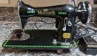 Seawol Monarch Sewing Machine SN: FT32542 Made in Japan Parts/Repair