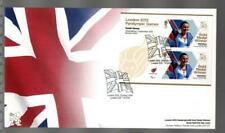 GB 2012 LONDON PARALYMPIC GAMES FDC - SARAH STOREY CYCLING ROAD TIME TRIAL