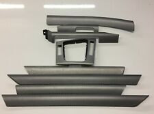 Bmw 3 series e46 Saloon / Touring Silver CARBON CUBE dash and door trim set