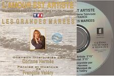 CORINNE HERMES l'amour est artiste CD SINGLE francois valery les grandes marrees