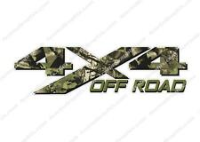 4x4 OFF ROAD Camouflage TREE Camo Hunting TRUCK Decal Sticker CHEVY DODGE FORD