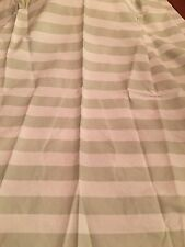 Rachel Ashwell Shabby Chic Cabana Stripe Ivory Fabric Sample 1 Yd Sage Cottage