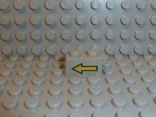 LEGO® Space Classic 1 x 2 grau grey 3004p01 Pfeil with Arrow 6931 6891 K196