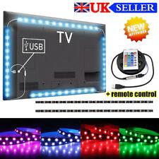 LED Strip Light USB Powered Colorful RGB TV Backlight Lighting & Remote Control!